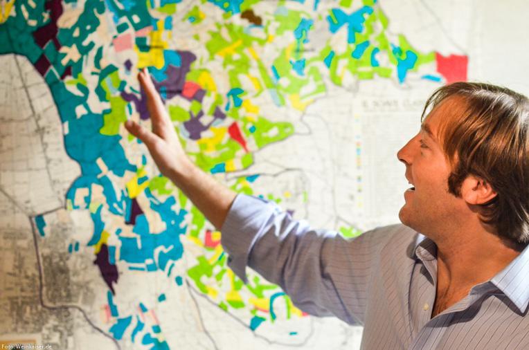 Giovanni Ponchia erklärt die Soave Region